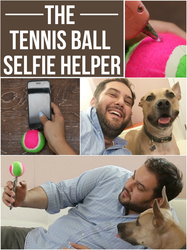 Tennis Ball Selfie Helper