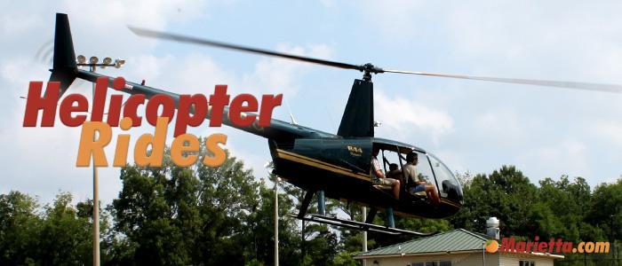 Helicopter Rides in Marietta
