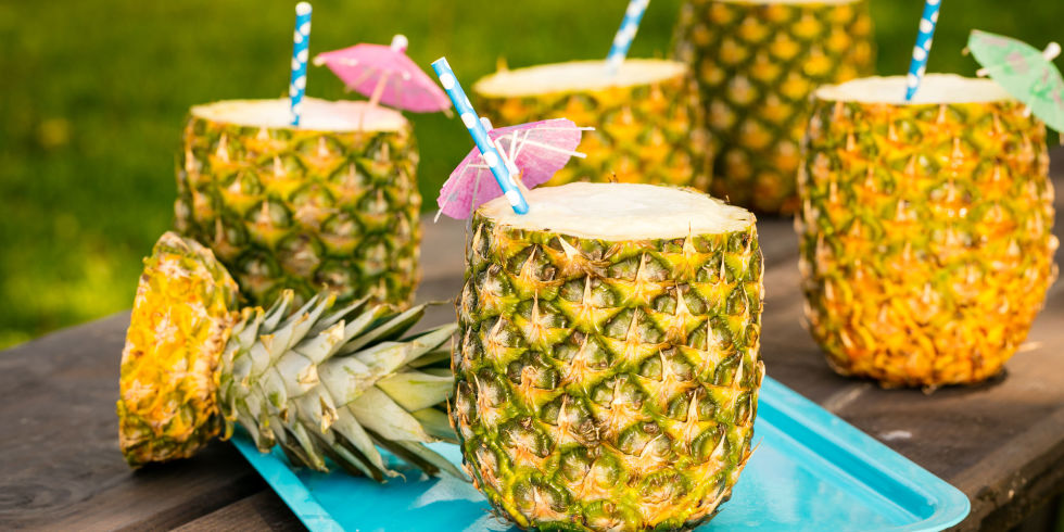Pina Colada Pineapple Cups