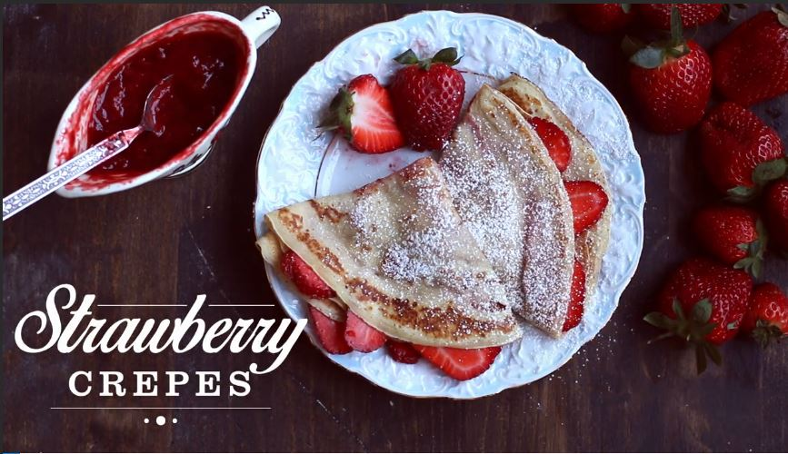 Tasty Tuesday - Strawberry Crepes
