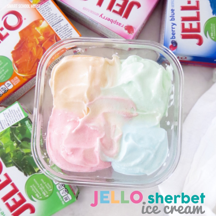 Homemade Jello Sherbet