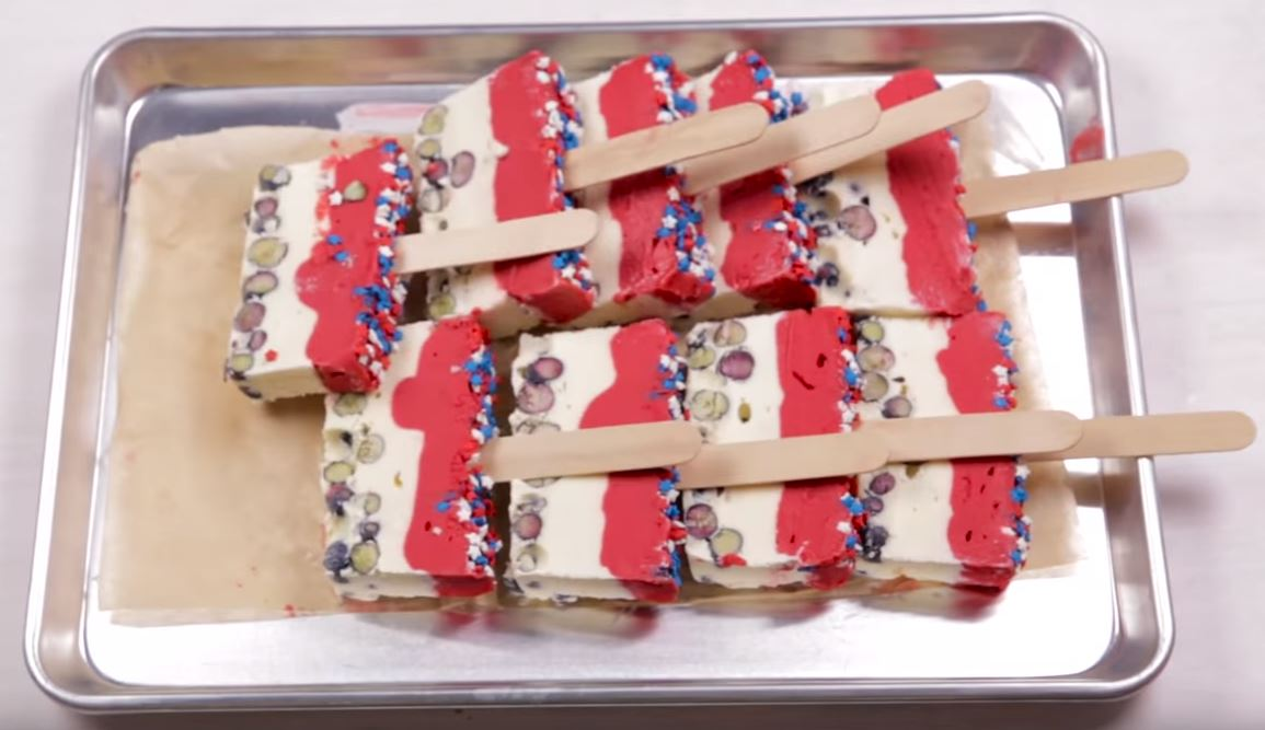 Patriotic Ice Pops