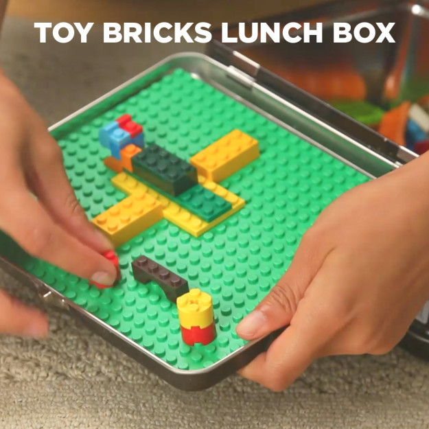 Toy Brick Lunch Box