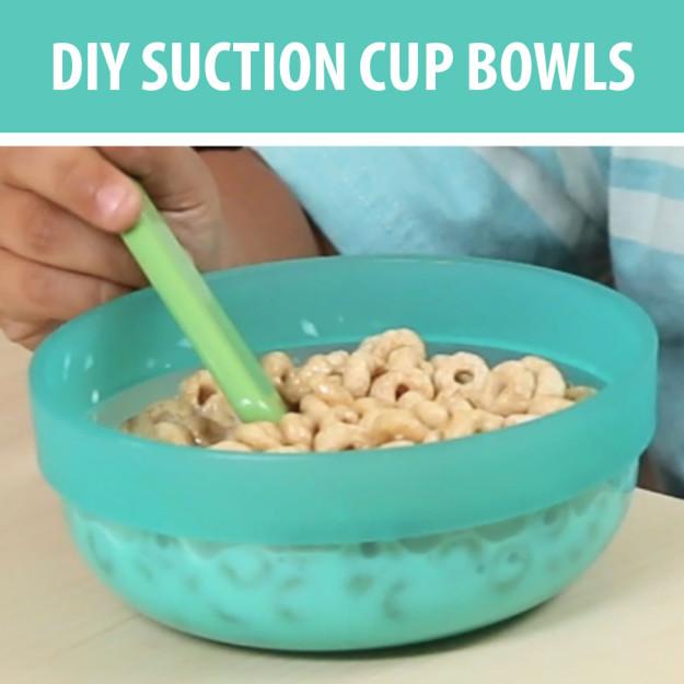 DIY Suction Bowls