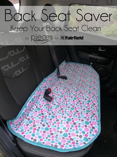 DIY Back Seat Car Cover