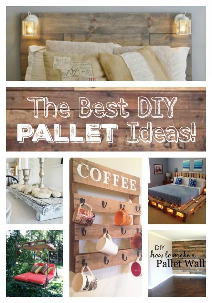 DIY Wood Palette Ideas