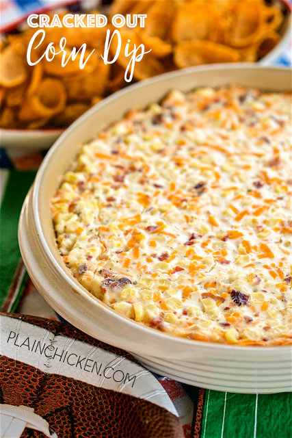 Cracked Out Corn Dip