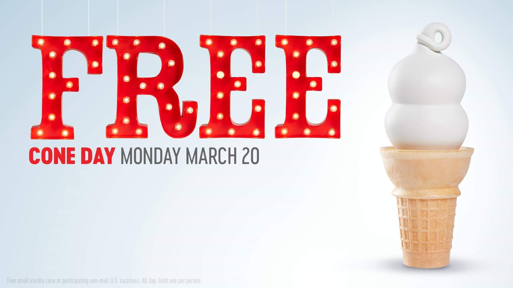 """The ultimate day of indulgence,"" as Haagen-Dazs calls it, is blessedly upon us. Haagen-Dazs Free Cone Day is happening on Tuesday, May 8. Like the free ice cream days from Ben & Jerry."